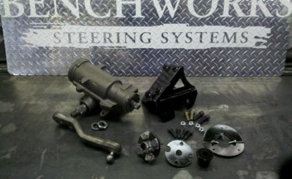 1947 – 1955 Chevy Power Steering Conversion Gear Kit
