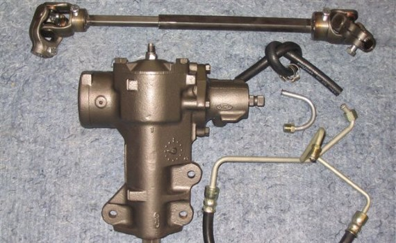 1966 – 1975 Ford F-100 4×4 Power Steering Conversion